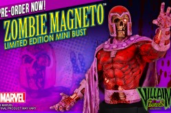 Gentle Giant Marvel Zombies Magneto Mini-Bust Pre-Orders Open