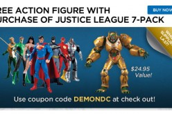 DC Collectibles Black Friday Sale – Free Parademon Action Figure With Purchase Of Justice League 7 Pack