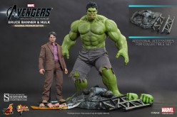 Hot Toys Bruce Banner & Hulk Sixth Scale Figure Pre-Orders At Sideshow