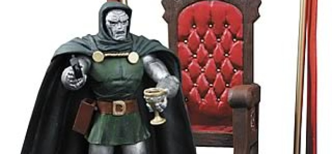 Marvel Select 7″ Dr. Doom Figure $10.00 At Entertainment Earth