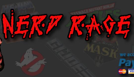 "Nerd Rage Toys Update – ""Black November Blowout"" 30% Off Storewide Sale Ending Soon"
