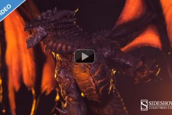 World Of Warcraft Deathwing Statue Video Preview