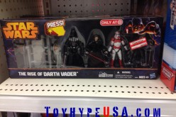 Target Clearances Star Wars The Rise Of Darth Vader Exclusive Box Set To $14.98