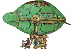 Nickelodeon Teenage Mutant Ninja Turtles Turtle Blimp Vehicle 50% Off At Amazon