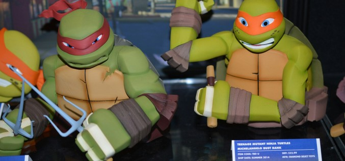 NYTF 2014 – Diamond Select Toys Coverage – TMNT License Announced