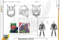 G.I. JoeCon 2014 Exclusive Toxo-Viper Sculpt Input Information