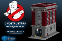 LEGO Ghostbusters Ecto-1 Designer Provides A Tutorial To Build Your Own Firehouse Playset