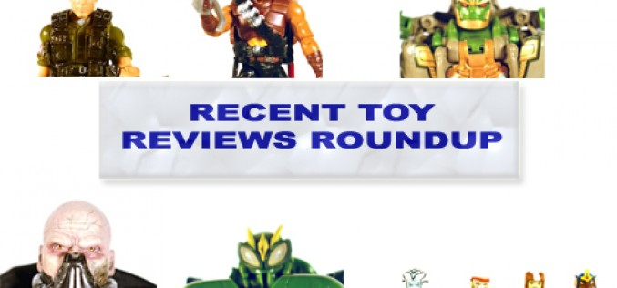 Recent Toy Review Roundup – G.I. Joe Tollbooth, Desert Scorpion, Transformers Rhinox, Star Wars 1:6 Darth Malgus, Transformers Waspinator, Thundercats Hoooo! Minimates