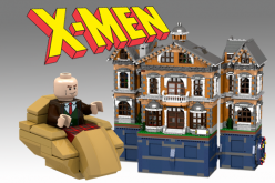 X-Men X-Mansion LEGO Set On Cuusoo