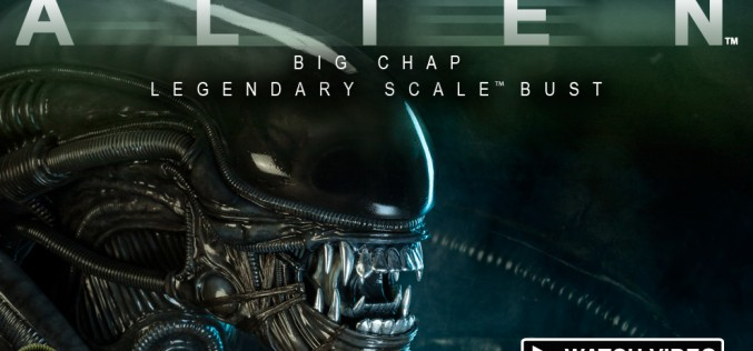 Alien Big Chap Legendary Scale Bust Video Preview