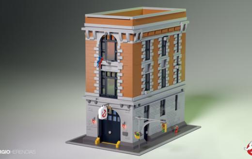 Wishlist Wednesday – LEGO Ideas Ghostbusters Firehouse