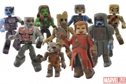 Guardians Of The Galaxy Minimates Action Figures Image