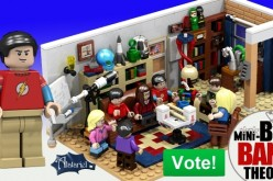 LEGO Cuusoo The Big Bang Theory Set Reaches Over 8,000 Supporters