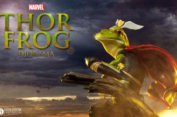 Thor Frog Diorama Preview