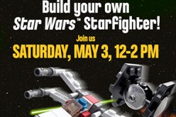 Build Your Own LEGO Star Wars Starfighter At Your Local ToysRUs Store
