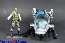G.I. JoeCon 2014 Steel Brigade Skyhawk with Pilot Steel Brigade Delta Review
