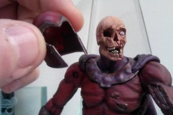 DST Marvel Select Zombie Magneto Head Sculpt Image