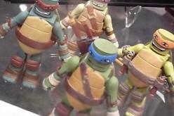 Teenage Mutant Ninja Turtles Minimates Shown At C2E2