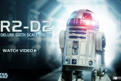 R2D2 Sixth Scale Figure Video Preview