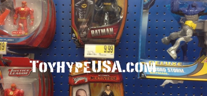 DC Comics Multiverse 4 Inch Wave 2 Figures Found At Target