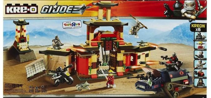 G.I. Joe Kre-O Arashikage Dojo Set $11.50 At Entertainment Earth
