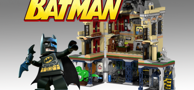 LEGO Ideas Assault On Wayne Manor Reaches 10,000 Supporters & Official LEGO Comment