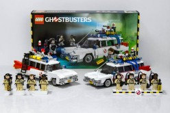 LEGO Ghostbusters 21108 Ecto-1 Comparison Images