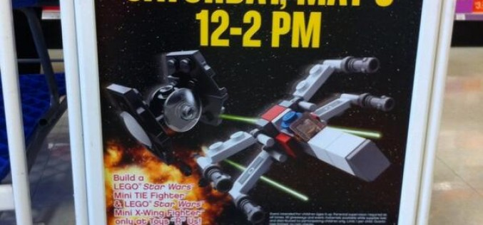 LEGO Star Wars Event At ToysRUS On Saturday, May 3rd