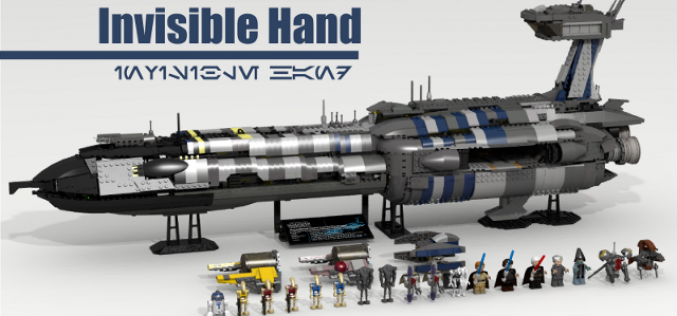 LEGO Ideas Star Wars The Invisible Hand Reaches 10,000 Supporters & Official LEGO Comment