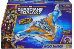 Marvel Guardians Of The Galaxy Milano Starship & Rocket Raccoon Warbird Vehicle In Stock At Amazon