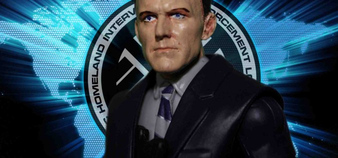 Custom Marvel Legends/Marvel Universe Agent Coulson Action Figure