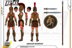 Boss Fight Studio Vitruvian H.A.C.K.S. Amazon Warriors Stretch Goal