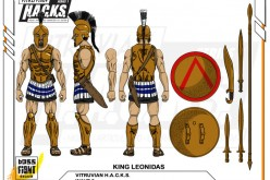 Boss Fight Studio's Vitruvian H.A.C.K.S. Series 3 King Leonidas & Black Racer Snake Gorgon Unlocked