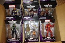 Guardians Of The Galaxy Marvel Legends Infinite Series Arrived From Amazon & Reviews Coming Soon