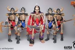October Toys Skeleton Warriors Kickstarter Project Nearly Funded, Original Playmates Toys Commercial & Add-Ons