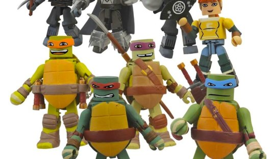 Teenage Mutant Ninja Turtles Minimates Hits Comic Shops December 3rd