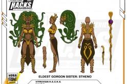 Boss Fight Studio Vitruvian H.A.C.K.S. Eldest Gorgon Sister: Stheno Prototype Images