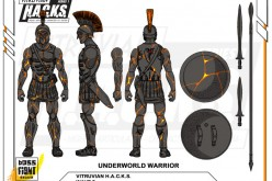 Boss Fight Studio Vitruvian H.A.C.K.S. Underworld Warrior & Blank Bodies Add-Ons Update