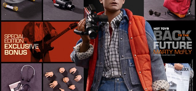 Hot Toys Back To The Future Marty McFly Sixth Scale Figure Pre-Orders Now Live