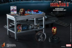 Hot Toys Iron Man Workshop Accessories Collectible Set Pre-Orders Now Live