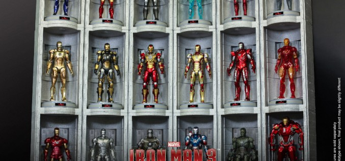 Hot Toys Hall Of Armor (House Party Protocol Version) Marvel Sixth Scale Figure Environment Pre-Orders Go Live