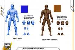 Boss Fight Studio's Vitruvian H.A.C.K.S. Blank Bodies Wave 2 Unlocked
