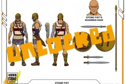 Boss Fight Studio's Vitruvian H.A.C.K.S. Bone Color Accessory Pack, Stone Fist, Black Skeleton Figure Unlocked
