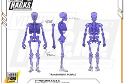 Boss Fight Studio's Vitruvian H.A.C.K.S. Hades Agent Skeleton Figure Unlocked