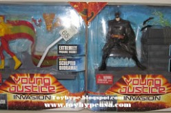 DC Young Justice 6 Inch Batman and Kid Flash Review