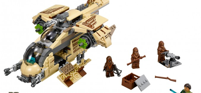 LEGO Reveals SDCC 2014 Exclusive Star Wars Wookie Gunship & Life-Size Chopper