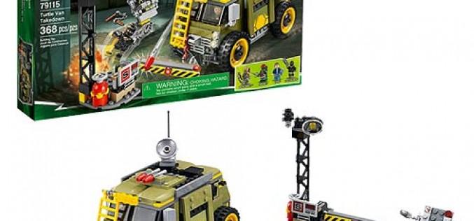 Entertainment Earth Update – LEGO Teenage Mutant Ninja Turtles 79115 Turtle Van Takedown