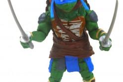 Teenage Mutant Ninja Turtles 2014 Movie Leonardo Figure Review