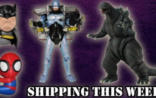 NECA Shipping This Week – Jetpack Robocop, 1994 Godzilla & Jumbo Scalers