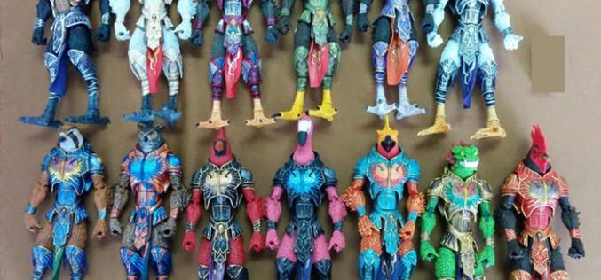 Four Horsemen Studios Gothitropolis: Ravens Figures Shipping Update